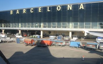 Cambio de moneda en el aeropuerto de Barcelona