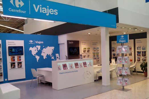 Agencia de Viajes Carrefour en el Centro Comercial Los Barrios Cádiz