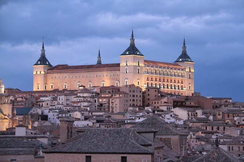 Alcazar de Toledo (foto de Agustín Puig)