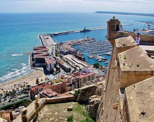 Alicante Castillo de Santa Bárbara