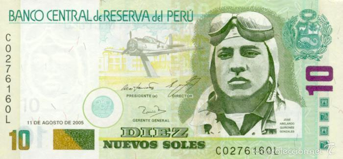 Billete de 10 soles Perú