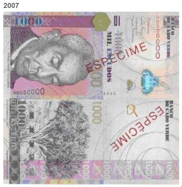 Billete de 1000 escudos de Cabo Verde 1000 CVE