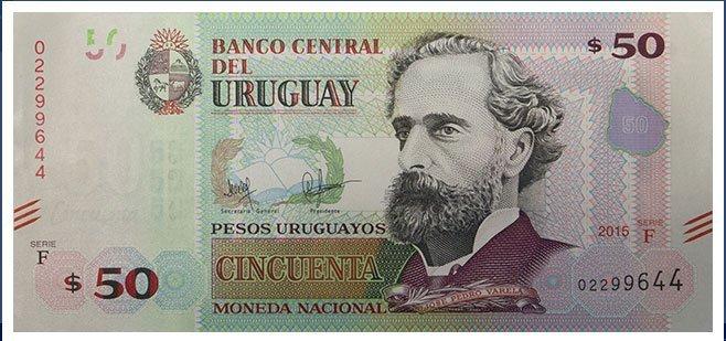 Billete de 50 pesos uruguayos