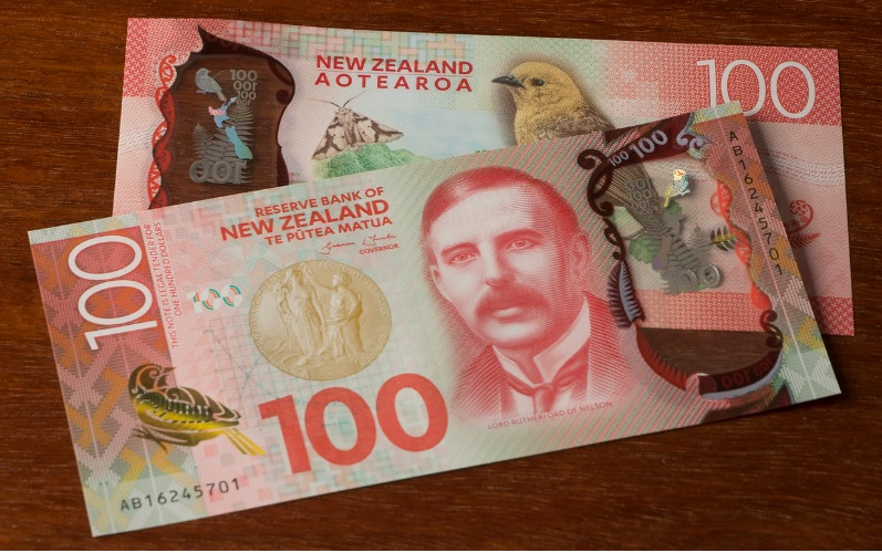 Billetes de 100 dólares neozelandeses 2015