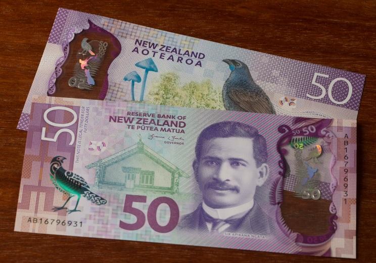 Billetes de 50 dólares neozelandeses 2015