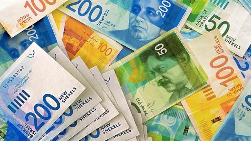 Billetes de Shekel ILS