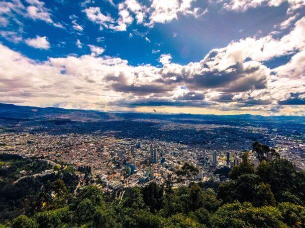 Bogotá desde las alturas