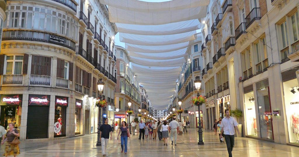 Calle Marqués de Larios-Malaga