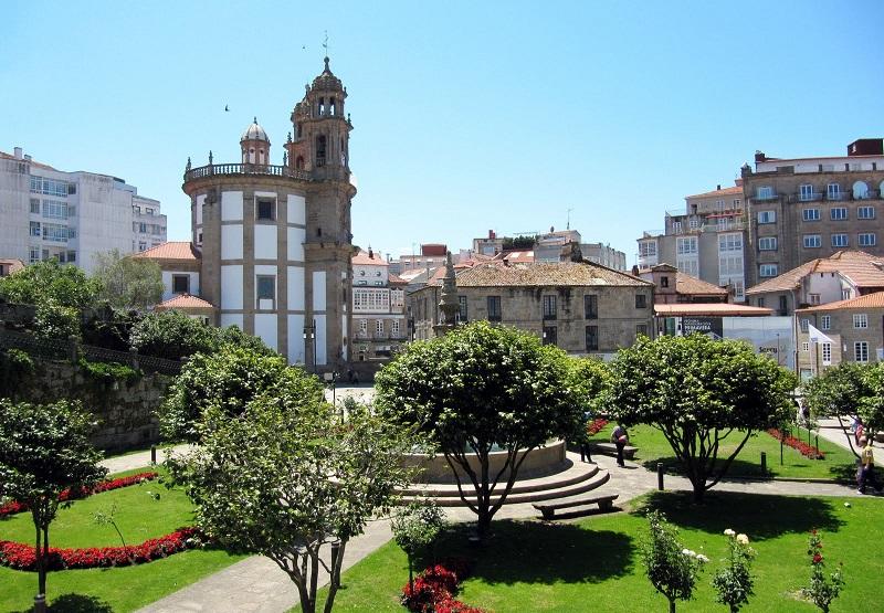 Capilla de la Virgen de la Peregrina Pontevedra (@Turisteando)