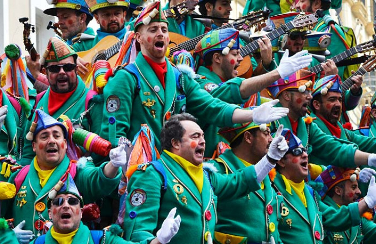 Carnaval y chirigota Cadiz