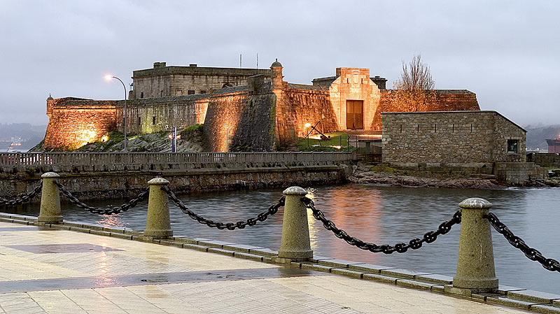 Castelo de San Antón La Coruña