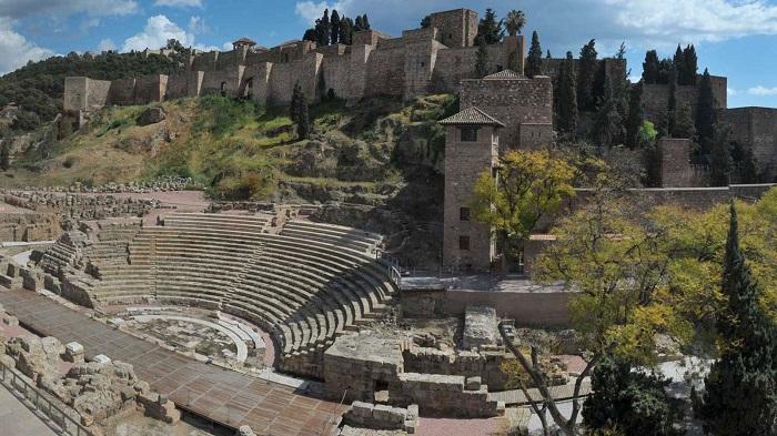 Castillo de Gibralfaro y Alcazaba de Málaga