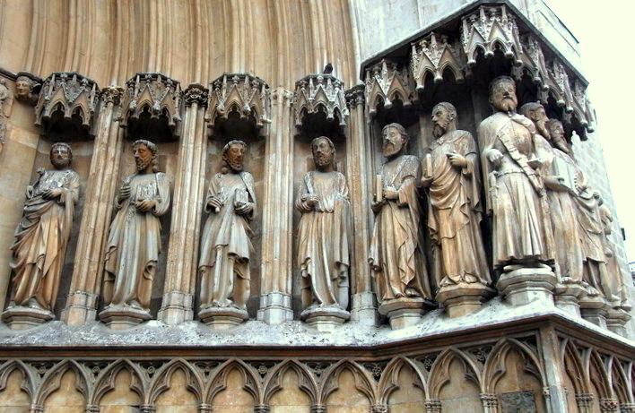 Catedral de Tarragona detalle interior