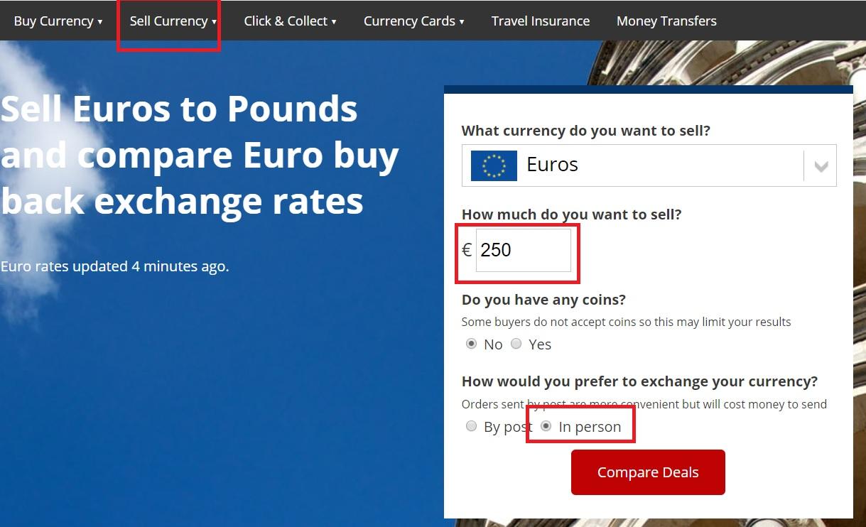 Comprar libras en Inglaterra comparador de moneda