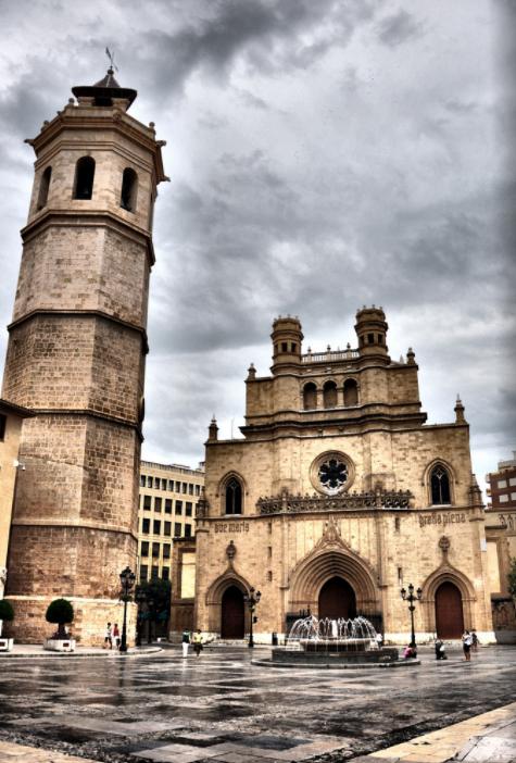Concatedral de Santa María Plaza Mayor Castellón