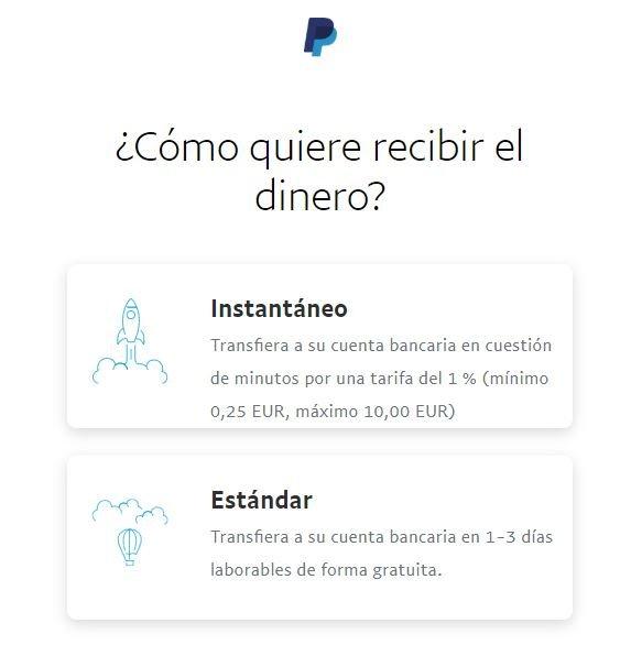 Coste transferencia divisas PayPal