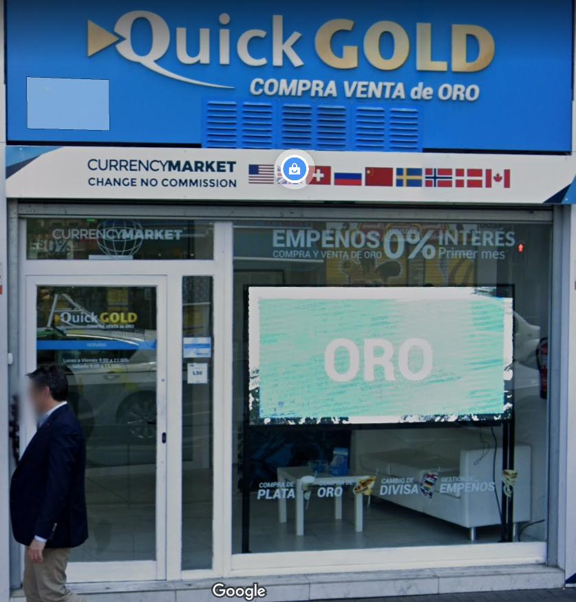 Currency market oficina de cambio Madrid