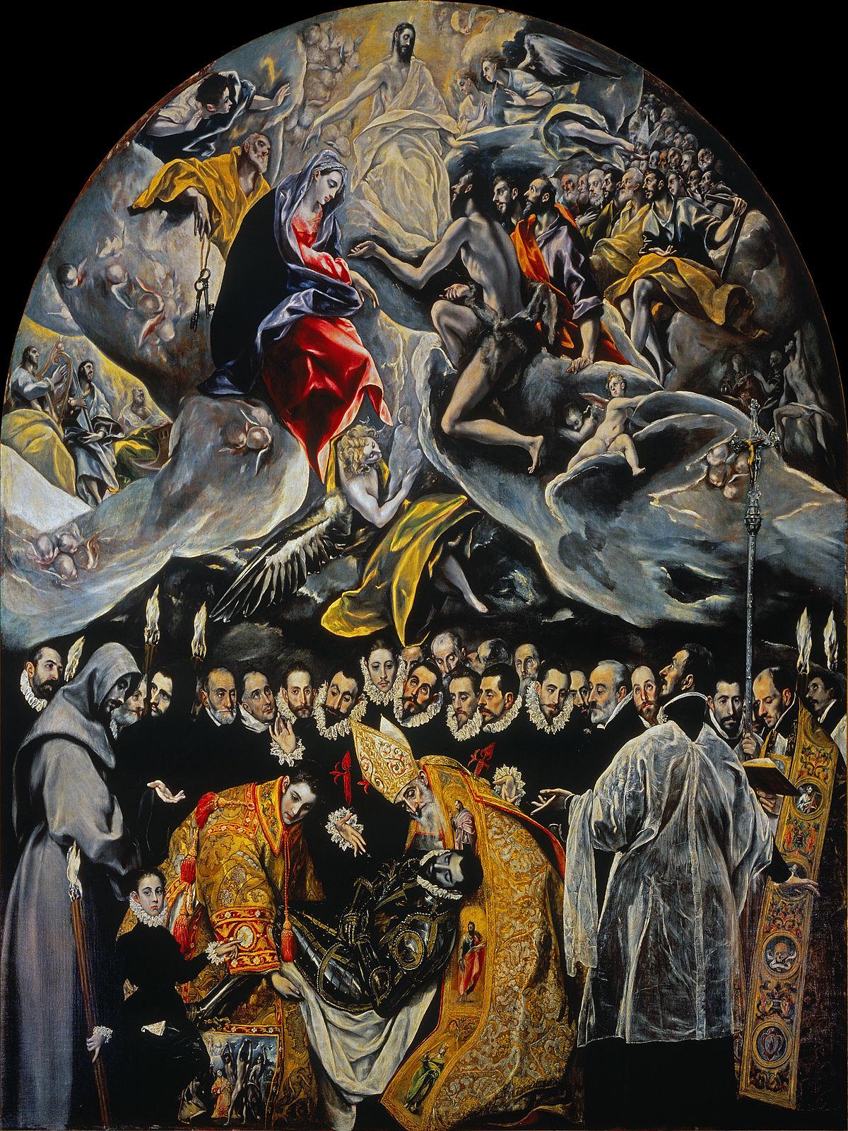El Entierro del Conde de Orgaz El Greco