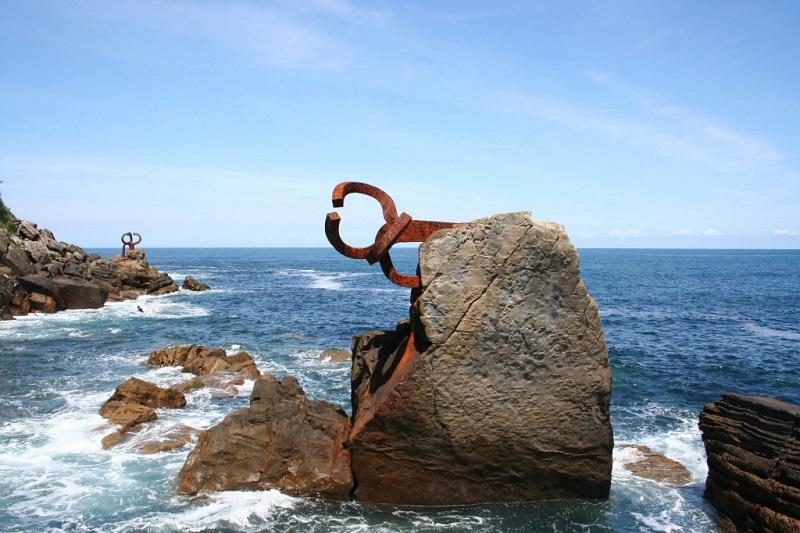 El peine del viento Eduardo Chillida