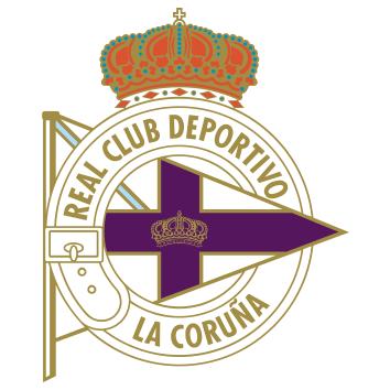 Escudo del Real Club Deportivo de La Coruña