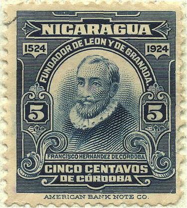 Francisco Hernandez de Cordoba Nicaragua