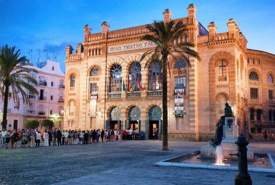 Gran Teatro falla Cádiz