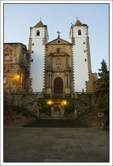 Iglesia de San Francisco Javier Cáceres