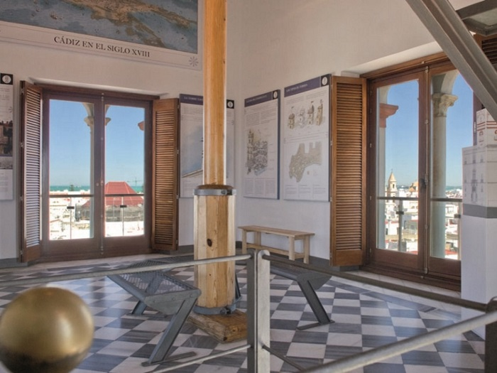 Interior de la Torre Tavira