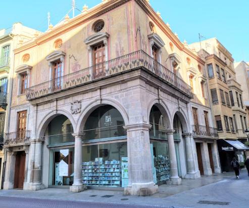 Lonja del Cáñamo en la Plaza Mayor de Castellón