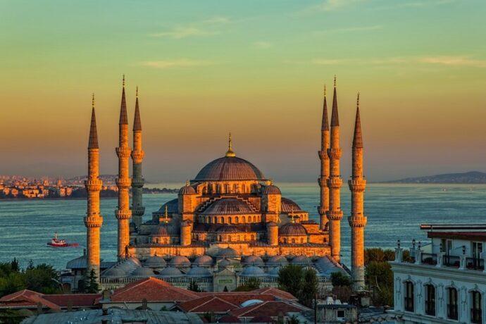 Mezquita azul de Estambul Turquía