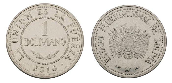 Moneda de 1 boliviano