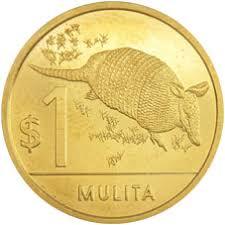 Moneda de 1 peso uruguayo