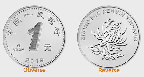 Moneda de un yuan