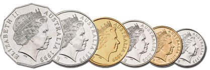 Monedas australia 2019