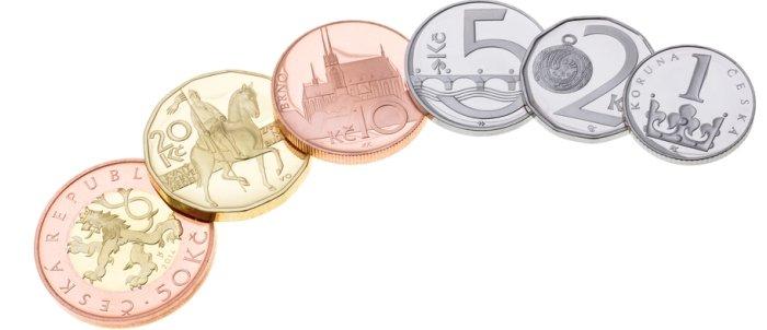 Monedas checas