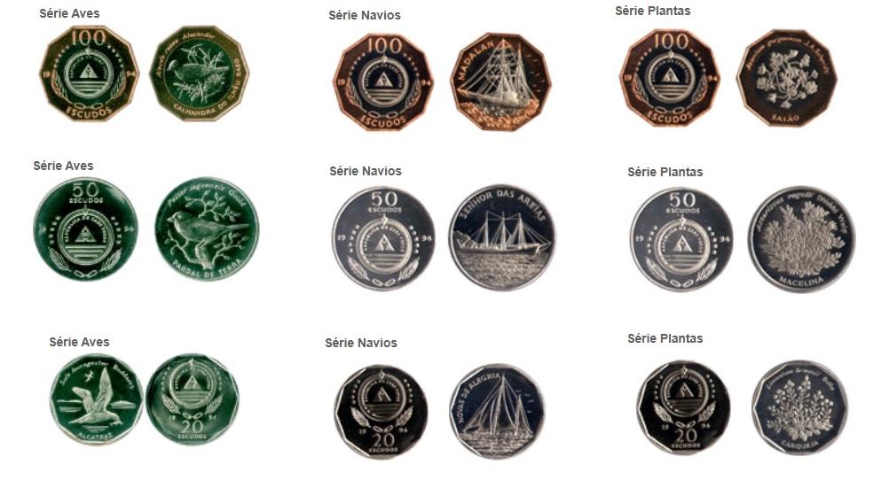 Monedas de Escudos de Cabo Verde