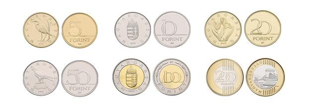 Monedas de florín húngaro 2019