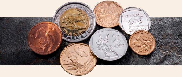 Monedas de rand en circulación 2019