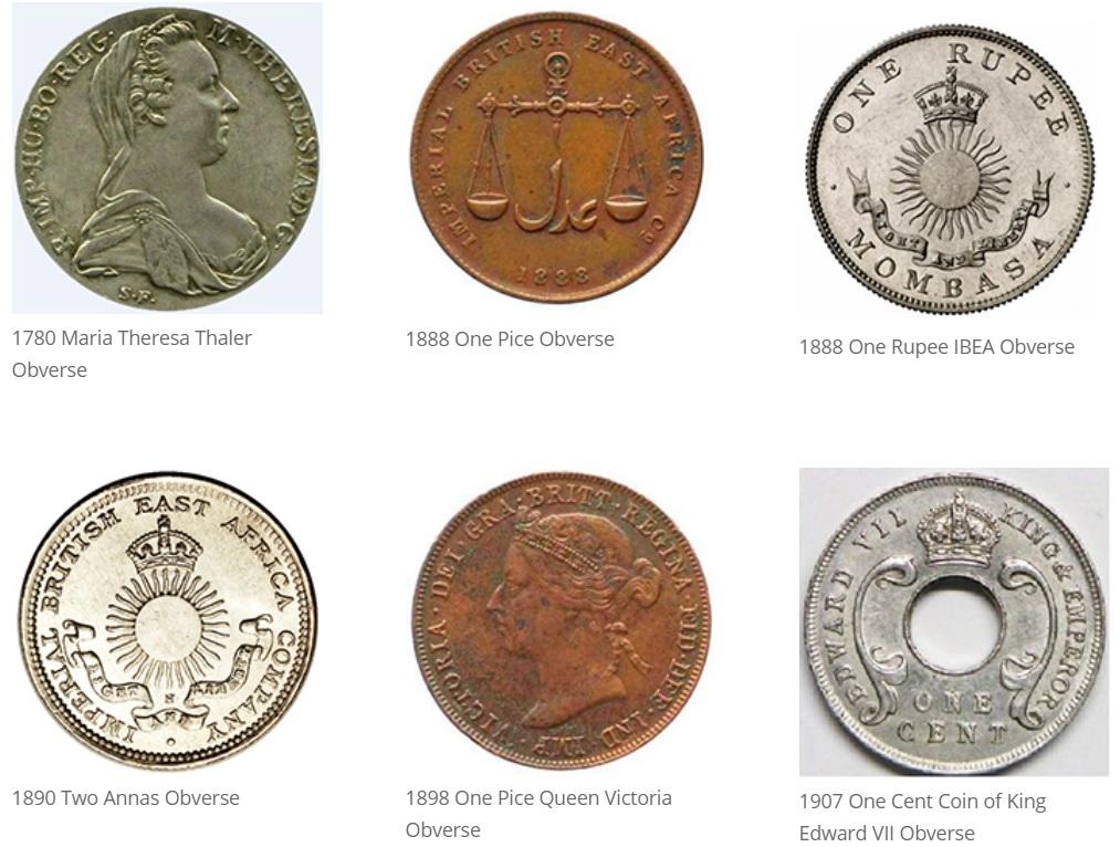 Monedas pre-independencia de Kenia