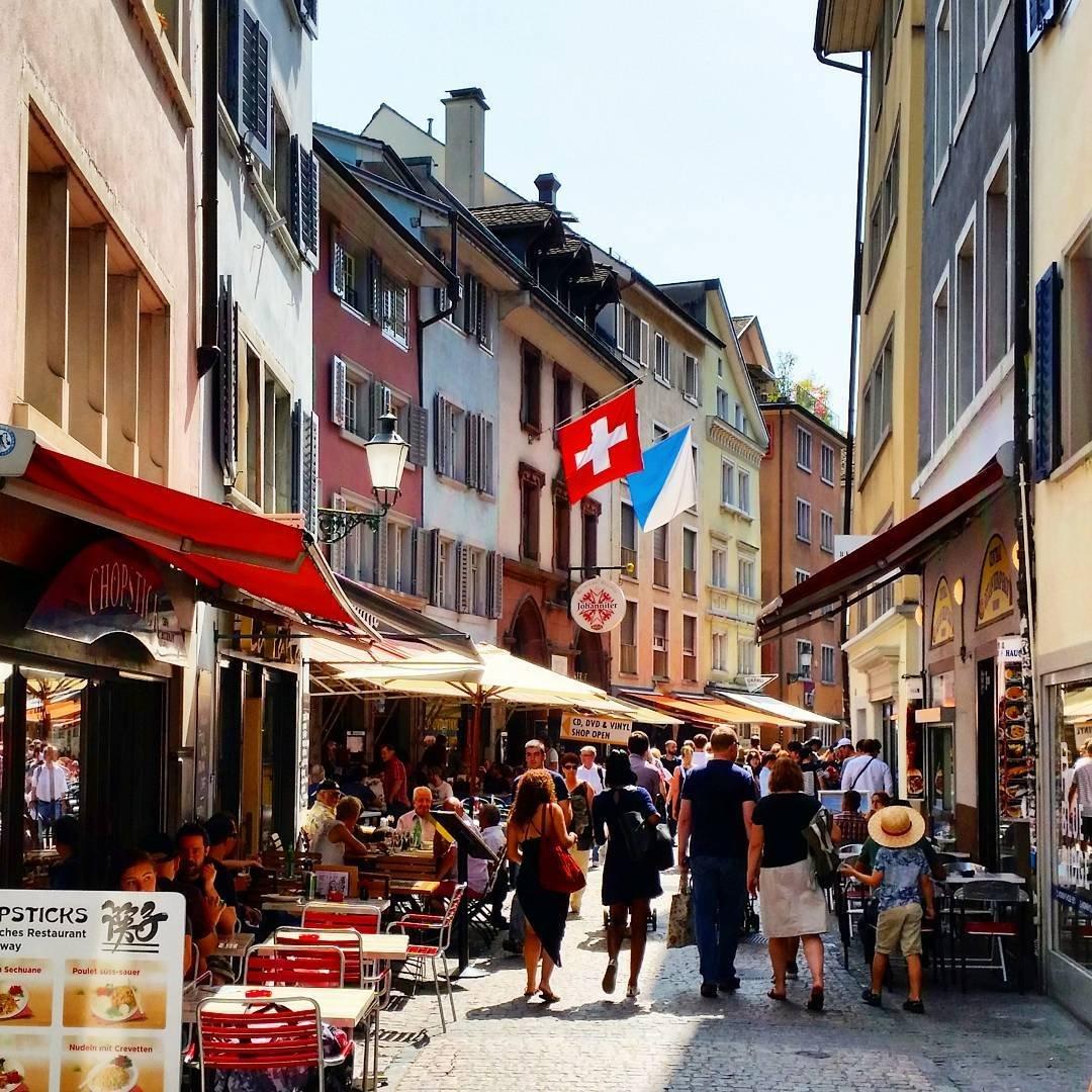 Niederdorfstrasse Zurich
