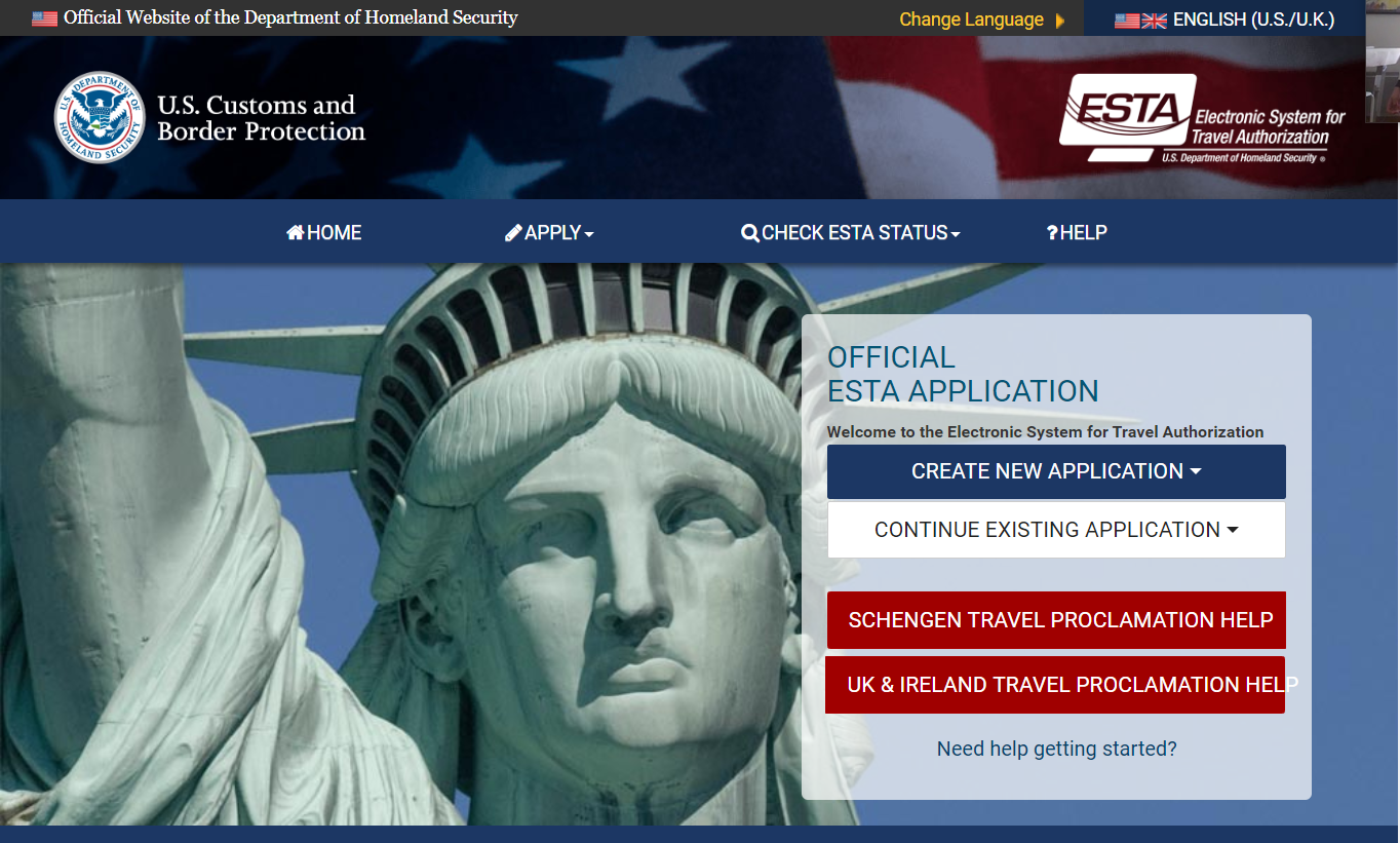 Oficial Website of the Department of Homeland Security