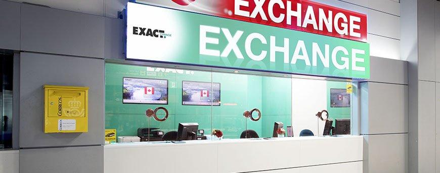 Oficina Exact Change Madrid Barajas T1