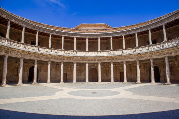 Palacio de Carlos V Granada Alhambra