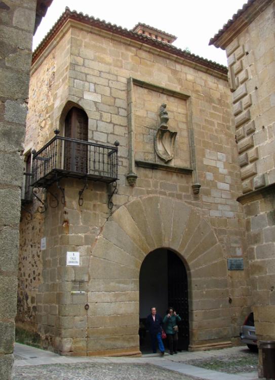 Palacio de Carvajal Cáceres