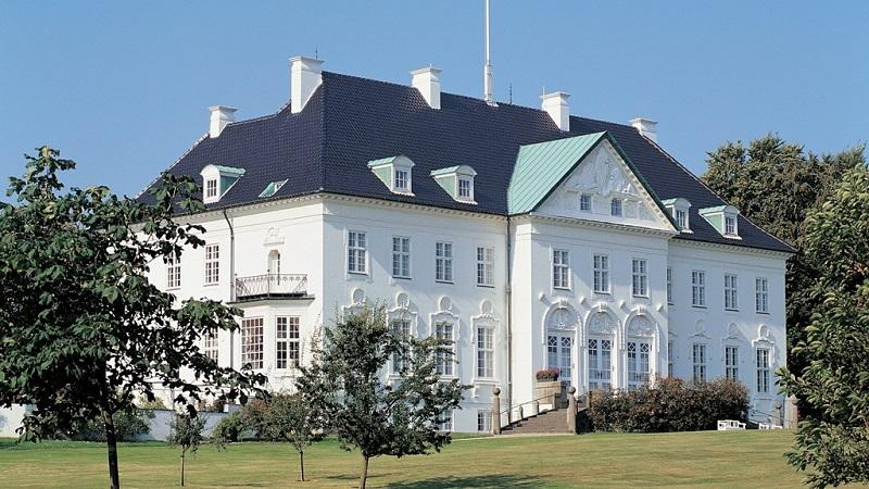 Palacio de Marselisborg en Aarhus Dinamarca