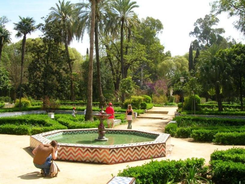Parque de María Luisa Jardines de la Concha