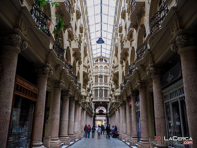 Pasaje de Lodares Albacete (Foto Lacerca.com)