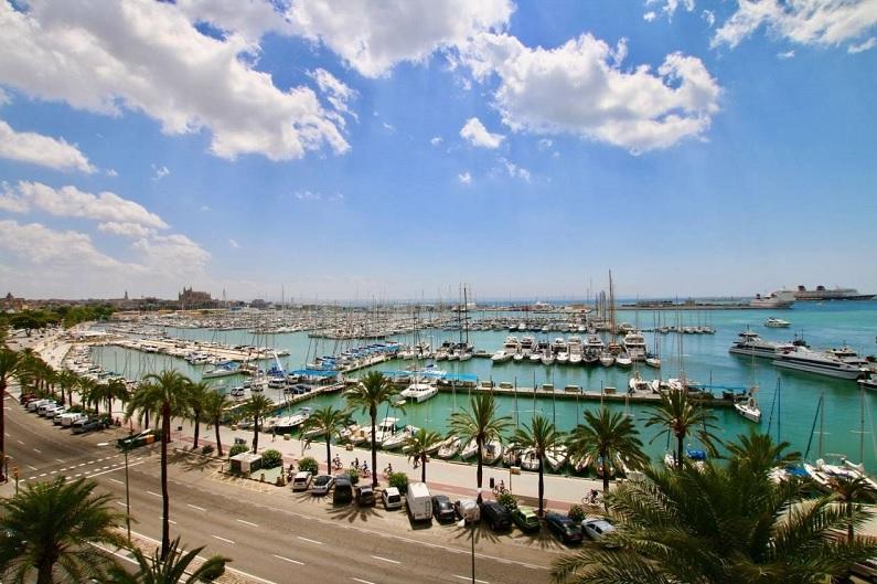 Paseo marítimo Palma de Mallorca