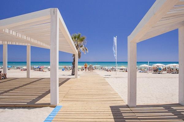 Playa de San Juan Alicante area accesible