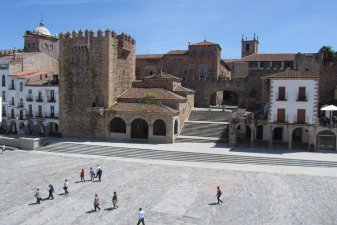 Plaza Mayor de Cáceres Extremadura
